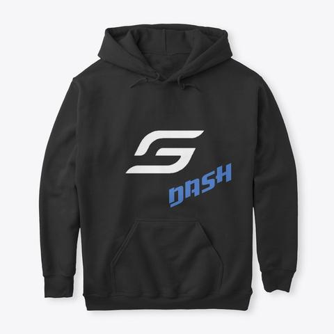Dash X Super Nova E Sorts (Dark) Black T-Shirt Front