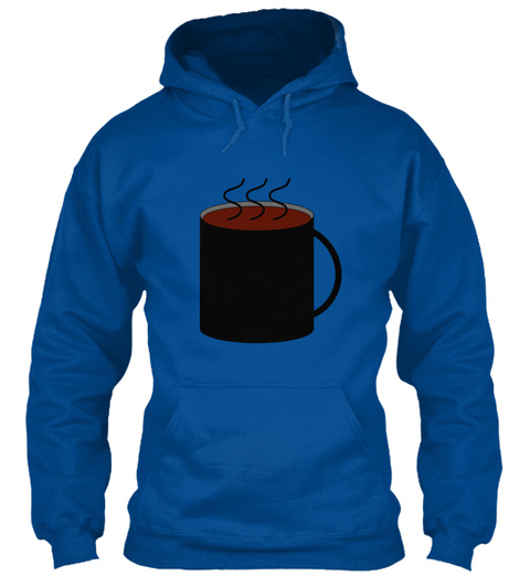 Coffee Gaming Royal T-Shirt Front