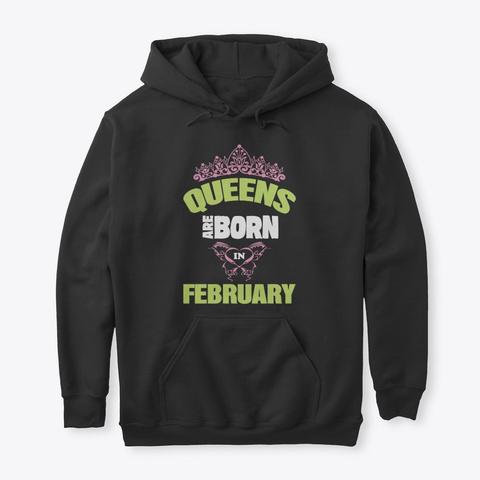 Queens Birthday T Shirts!! Black T-Shirt Front