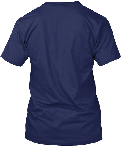 Notorious Rbg Premium T Shirt Navy T-Shirt Back