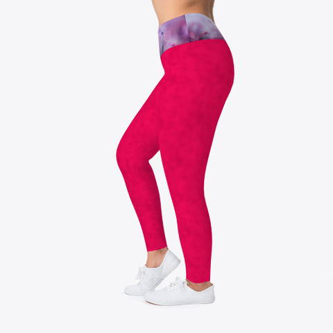 premium selection new lifestyle available GR Pink-Workout Pattern Workout Leggings