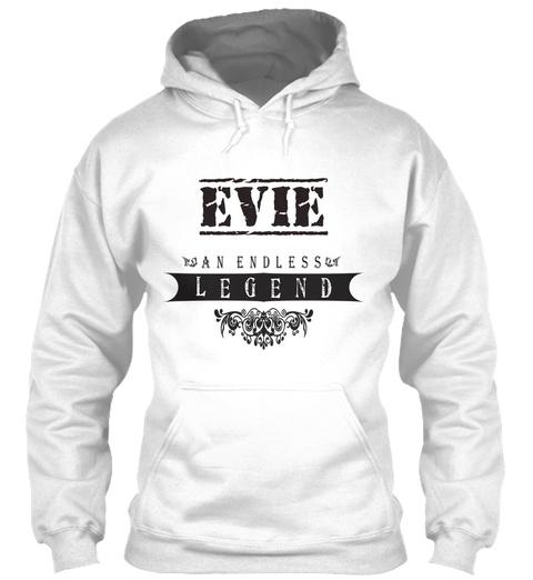 Evie An Endless Legend White T-Shirt Front