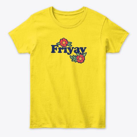 Friyay Daisy T-Shirt Front