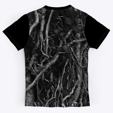 T Shirt: Music Cables Black T-Shirt Back