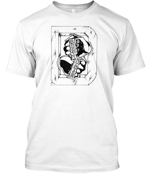 Bounty Hunter White T-Shirt Front