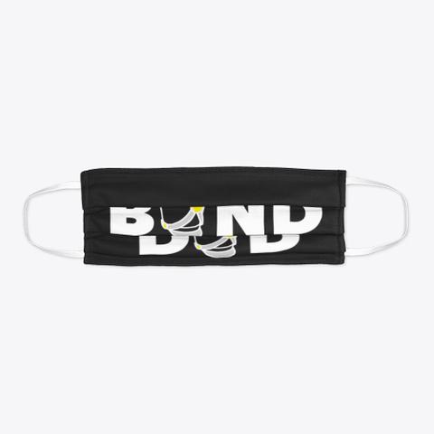 Band Dad   Face Mask Black Camiseta Flat