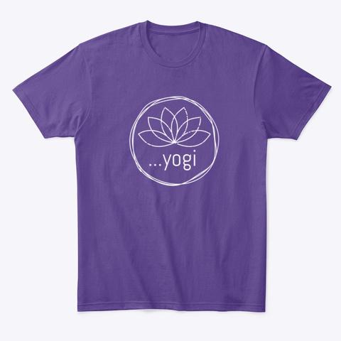 Yogi Purple T-Shirt Front