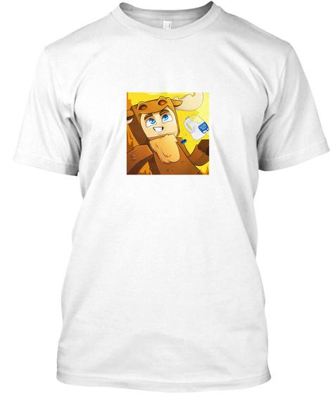 Moose Craft Merch T Shirt White T-Shirt Front