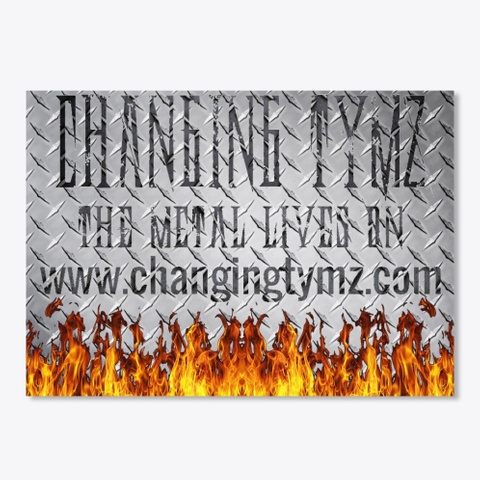 Changing Tymz Custom Sticker #2 Black T-Shirt Front