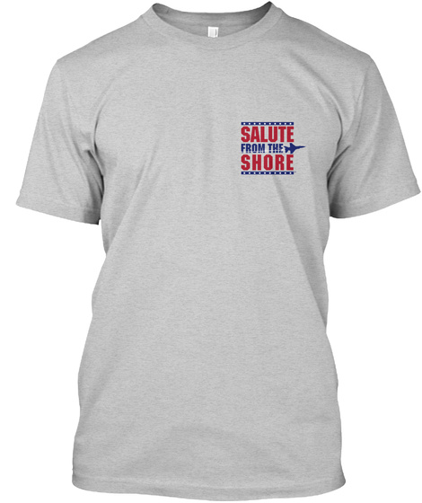 Salute From The Shore  Viii Light Steel T-Shirt Front