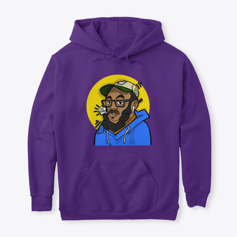 Getting To The Truth In This Art  Purple T-Shirt Front