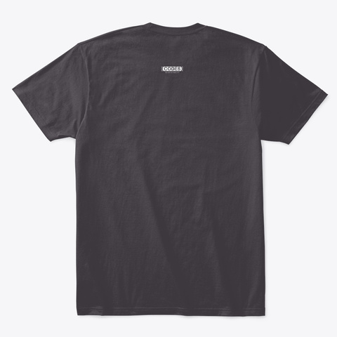 Tear It Up Heathered Charcoal  T-Shirt Back