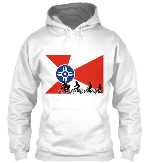 Ict Family Stroll White Sweatshirt Front
