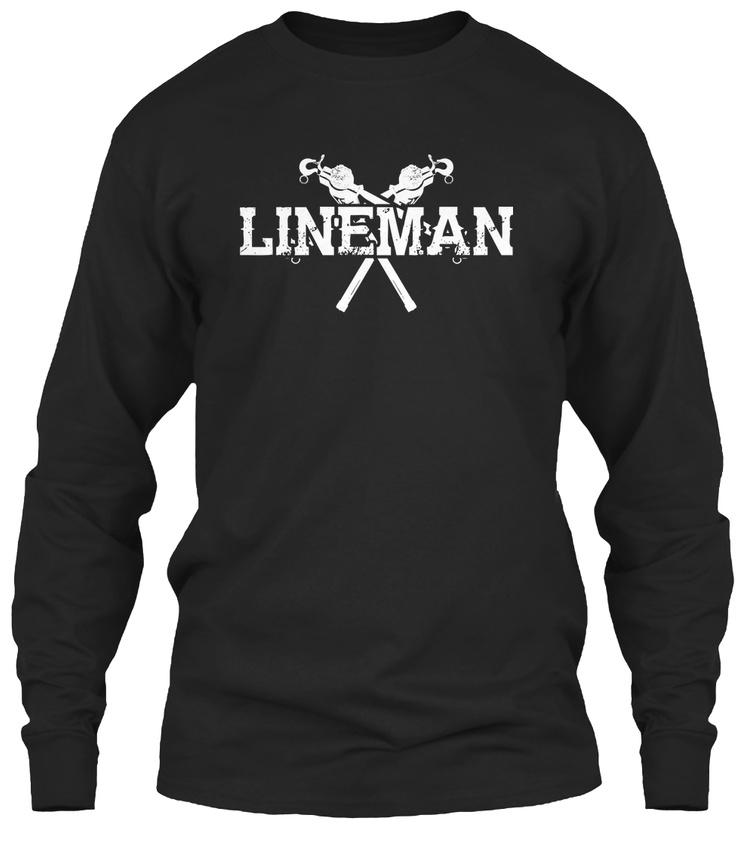 Fashionable Lineman Gildan Long Sleeve Tee Gildan Long Sleeve Tee T-Shirt