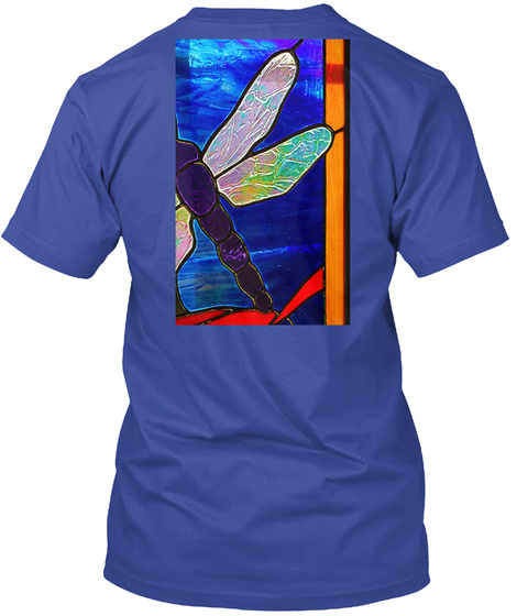 Erodynamic Deep Royal T-Shirt Back