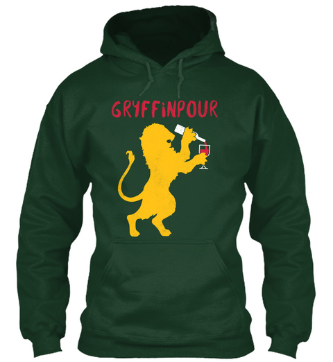 Gryffinpour Forest Green T-Shirt Front