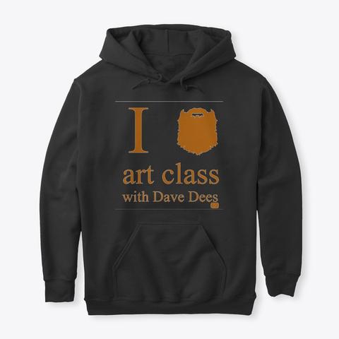 Art Class Merch Black T-Shirt Front