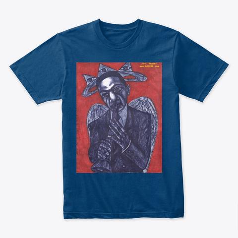 St. Trane Cool Blue T-Shirt Front