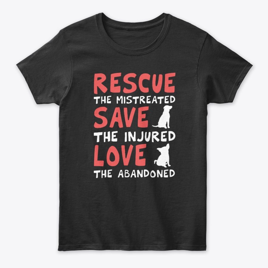 Dog Lover Paws Rescuers Puppy Love Gift Unisex Tshirt
