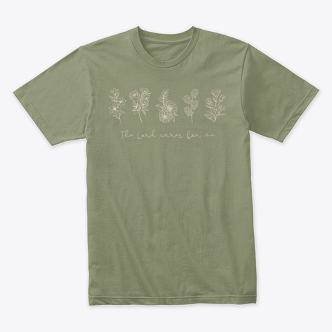 Emily Collection Light Olive T-Shirt Front