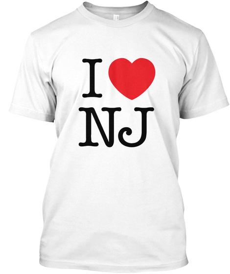 I Love Nevada T Shirt White T-Shirt Front