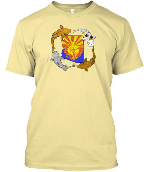Carp Phoenix Banana Cream T-Shirt Front