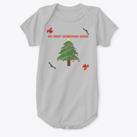 My First Christmas Ever 2 Heather  T-Shirt Front