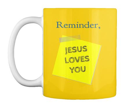 Reminder, Lemon Yellow T-Shirt Front