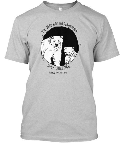 Fight Or Flight Light Steel T-Shirt Front