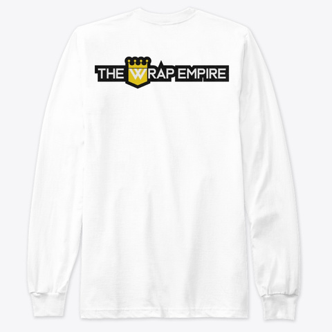 Htx 386 Classic Long Sleeve T White T-Shirt Back