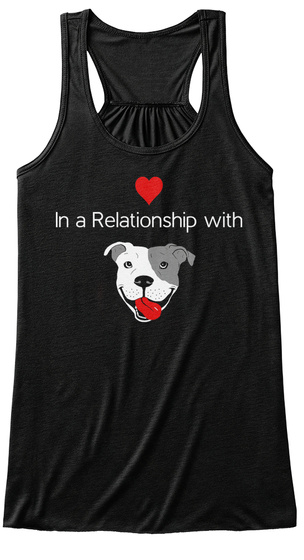 In A Relationship With Black Women's Tank Top Front