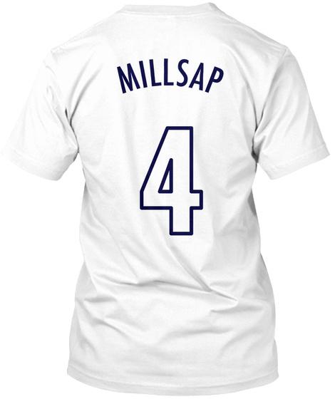 """Millsap """"Mile High"""" Tee White T-Shirt Back"""