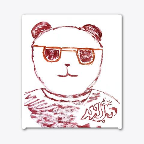 Wsu Panda Standard T-Shirt Front