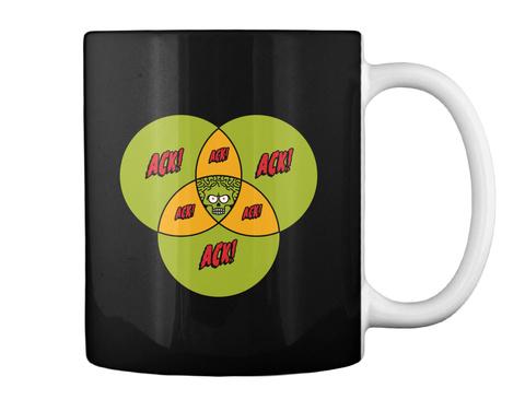 Ack Ack Ack Mug [Int] #Sfsf Black Mug Back