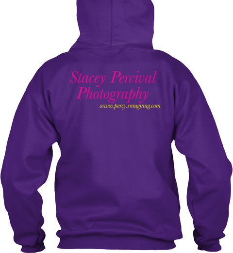 Stacey Percival Photography Www.Percy.Smugmug.Com Purple T-Shirt Back