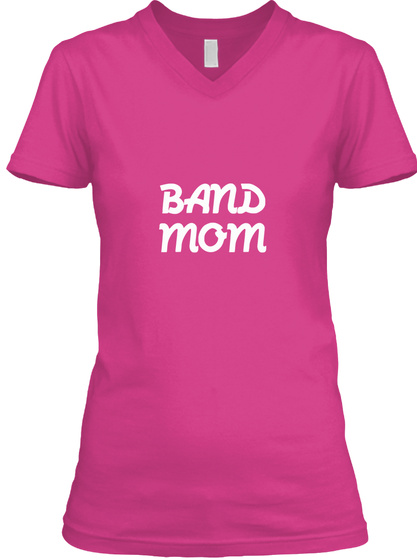 Band Mom Berry T-Shirt Front