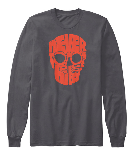 Never Asphalt T-Shirt Front