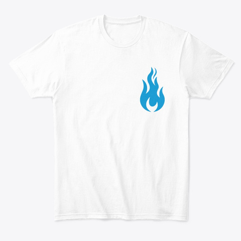 Sffs Signature Tee White T-Shirt Front