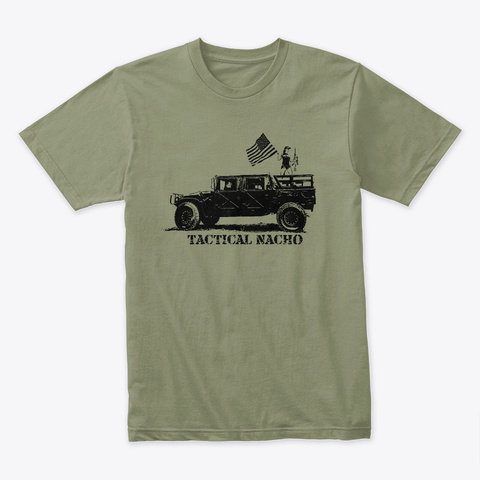Premium Shirt *Recommended* Light Olive T-Shirt Front