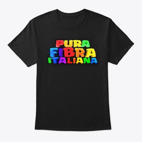 Connessionato Puro Black T-Shirt Front