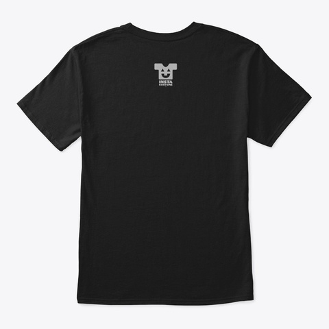 Upstairs For Rent   Style 2 (Mp) Black T-Shirt Back
