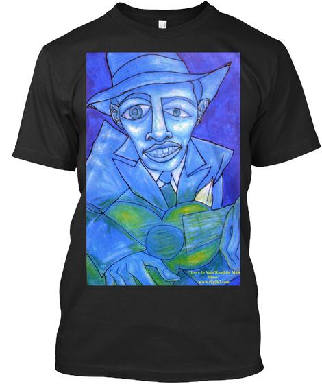 Ramblin Man Black T-Shirt Front