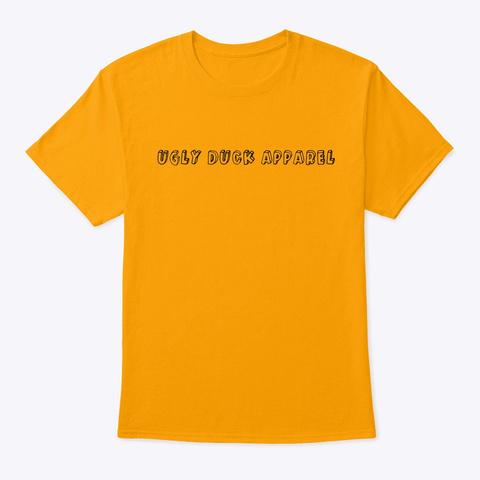 Inglés Series  Shirt Gold T-Shirt Front