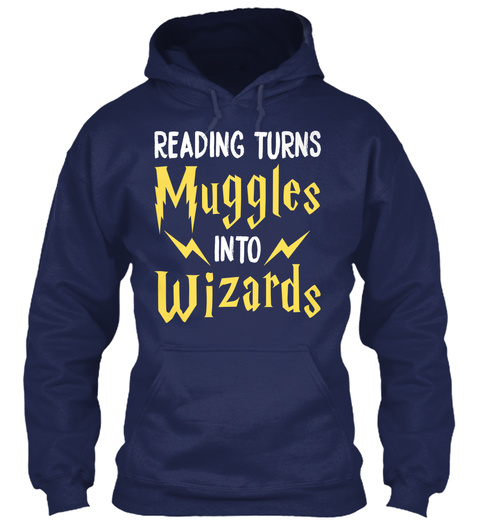 12/21   Wizards Wizarding Navy Sweatshirt Front