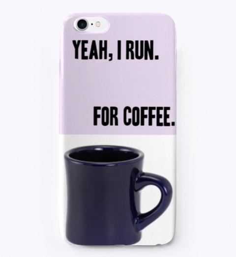 Coffee Talk Light Purple T-Shirt Front