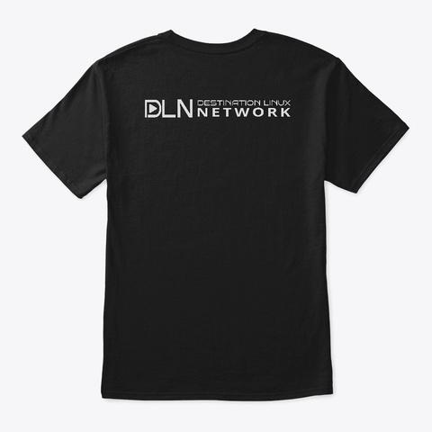 An Error Occurred. Black T-Shirt Back
