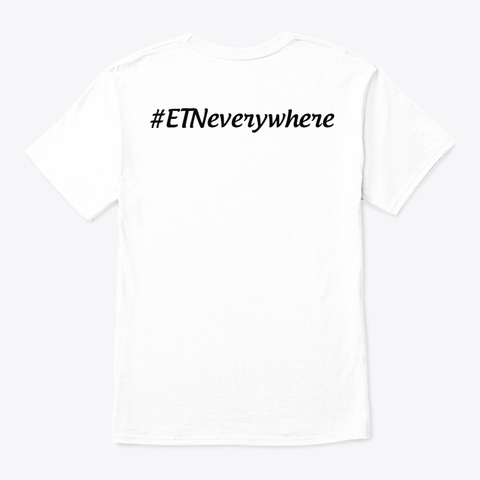 Electroneum (Etn) T Shirt 2020 White T-Shirt Back