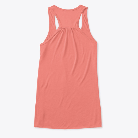 S/V Temptress Mermaid Tank (Light) Coral T-Shirt Back