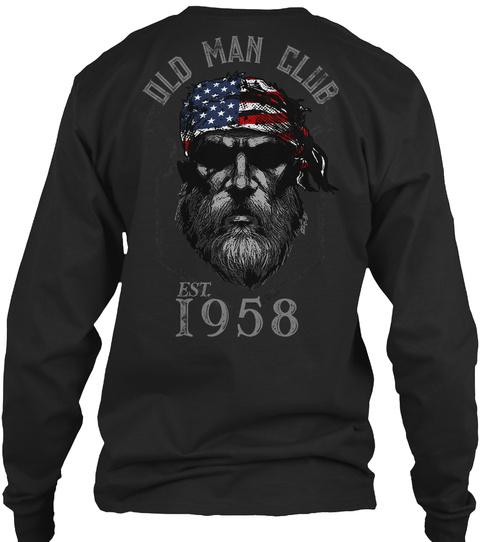 1958 Old Man Club LongSleeve Tee