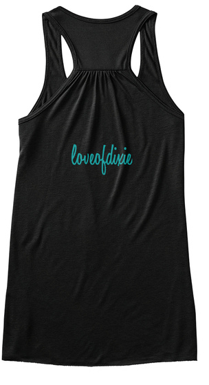 Loveofdiscie Black Women's Tank Top Back